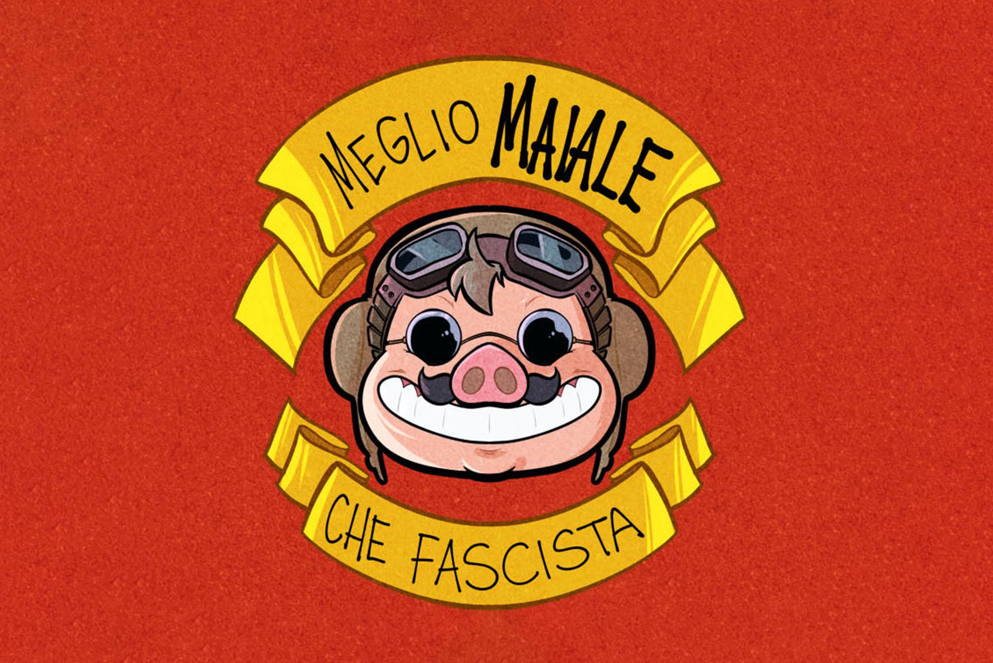 Piuttosto che diventare un fascista, meglio essere un maiale